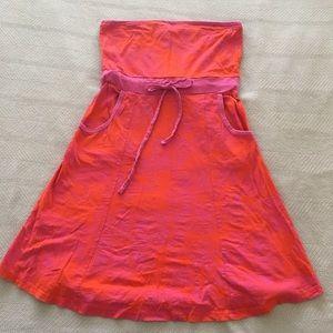Roxy Strapless Tube Dress Large